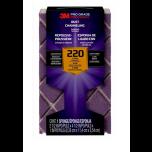 3M Pro Grade Precision blokschuurspons met stofkanalen - korrel 220 (extra fijn)