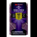 3M Pro Grade Precision blokschuurspons met stofkanalen - korrel 60 (grof)