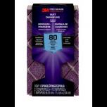 3M Pro Grade Precision blokschuurspons met stofkanalen - korrel 80 (medium)