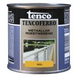 Tenco ferro roestwerende ijzerverf geel - 250 ml.