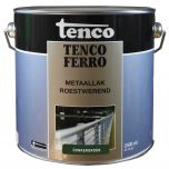 Tenco ferro roestwerende ijzerverf donkergroen - 2,5 liter
