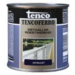 Tenco ferro roestwerende ijzerverf antraciet - 250 ml.