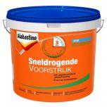 Alabastine sneldrogende voorstrijk transparant - 5 liter