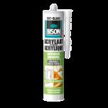 Bison acrylaatkit wit - 310 ml.