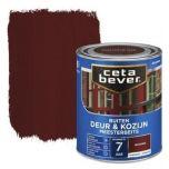 Cetabever deur & kozijn meesterbeits transparant zijdeglans mahonie - 750 ml.