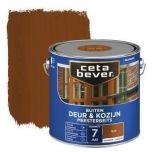 Cetabever deur & kozijn meesterbeits transparant zijdeglans teak - 2,5 liter