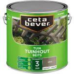 Cetabever tuinbeits transparant zijdeglans grijs 033 - 2,5 liter