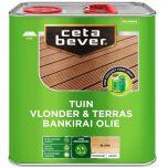 Cetabever UV proof terrasolie bankirai kleurloos - 4 liter