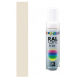 Dupli-Color acryl lakstift RAL 9001 - 12 ml.