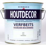 Hermadix houtdecor verfbeits wit - 2,5 liter