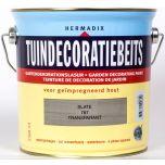 Hermadix tuindecoratiebeits slate grijs - 2,5 liter