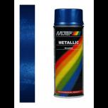 Motip metallic lak blauw 04044 - 400 ml.