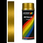 Motip metallic lak goud 04047 - 400 ml.