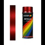 Motip metallic lak rood 04045 - 400 ml.