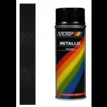Motip metallic lak zwart 04049 - 400 ml.