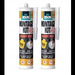 Bison direct grip montagekit duoverpakking - 2 x 370 gram