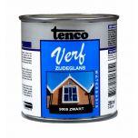 Tenco verf acryl zijdeglans zwart (RAL 9005) - 250 ml