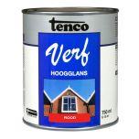 Tenco verf hoogglans rood - 750 ml