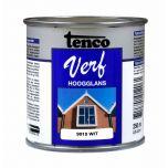 Tenco verf hoogglans wit (RAL 9010) - 250 ml