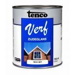 Tenco verf zijdeglans wit (RAL 9010) - 750 ml