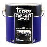 Tenco topcoat zwart - 2,5 liter