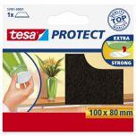Tesa protect vilt bruin - 100 x 80 mm.