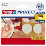Tesa protect vilt wit 26 mm. - 9 stuks
