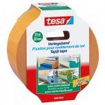 Tesa express verpakkingstape transparant - 50 m x 50 mm.