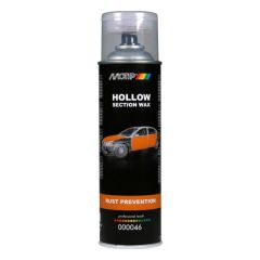 Motip anti roest spray transparant wit (000046) - 500 ml.