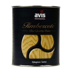 Avis Timbercote blanke lak zijdeglans - 1 L