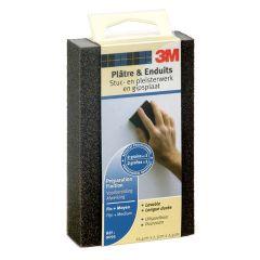 3M schuurblok voor stuc- en pleisterwerk medium - fijn & middel