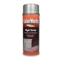 Motip Colorworks hittebestendige lak zilver - 400 ml.