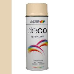 Motip deco alkyd hoogglans lak RAL 1015 licht ivoorkleurig - 400 ml.