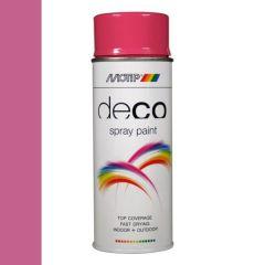 Motip deco alkyd hoogglans lak RAL 4003 erika violet - 400 ml.