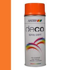 Motip deco alkyd hoogglans lak RAL 2003 pastel oranje - 400 ml.