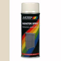 Motip radiatorlak gebroken wit - 400 ml.