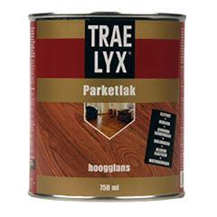 Trae-Lyx parketlak hoogglans - 750 ml.