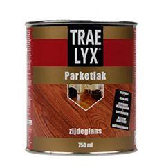 Trae-Lyx parketlak zijdeglans - 750 ml.