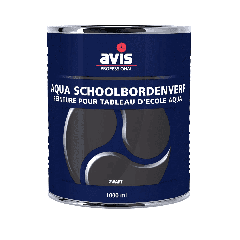 Avis Aqua schoolbordenverf zwart - 250 mL