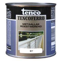 Tenco ferro roestwerende ijzerverf wit - 250 ml.