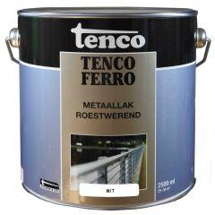 Tenco ferro roestwerende ijzerverf wit - 2,5 liter