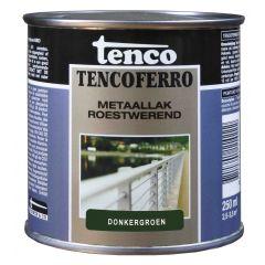 Tenco ferro roestwerende ijzerverf donkergroen - 250 ml.