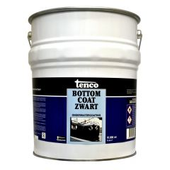 Tenco bottomcoat zwart - 25 liter