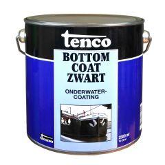 Tenco bottomcoat zwart - 2,5 liter
