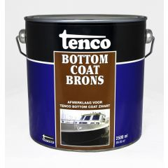 Tenco bottomcoat brons - 2,5 liter