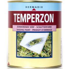 Hermadix temperzon zonwerende verf wit - 750 ml.