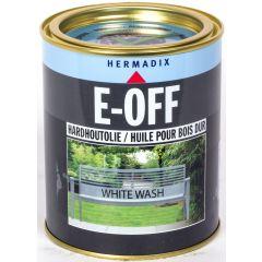 Hermadix E-Off hardhoutholie white wash - 750 ml.
