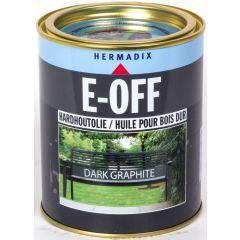 Hermadix E-Off hardhoutholie dark graphite - 750 ml.