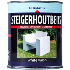 Hermadix steigerhoutbeits white wash - 750 ml.