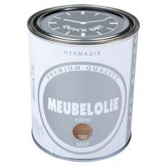 Hermadix meubelolie extra mat donker eiken - 750 ml.